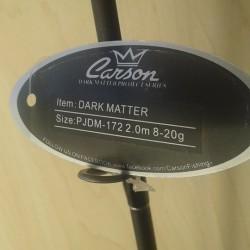 Carson Dark Matter 8/20gr